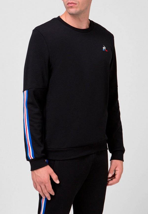 мужской свитшот le coq sportif, черный