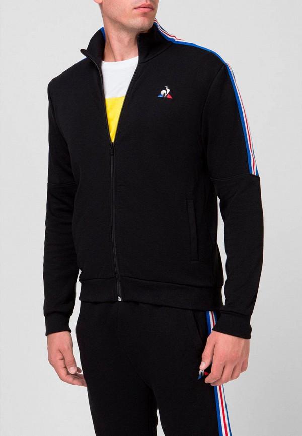 мужская олимпийка le coq sportif, черная