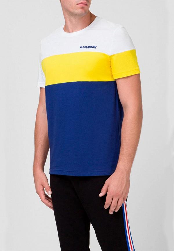 мужская футболка с коротким рукавом le coq sportif, разноцветная