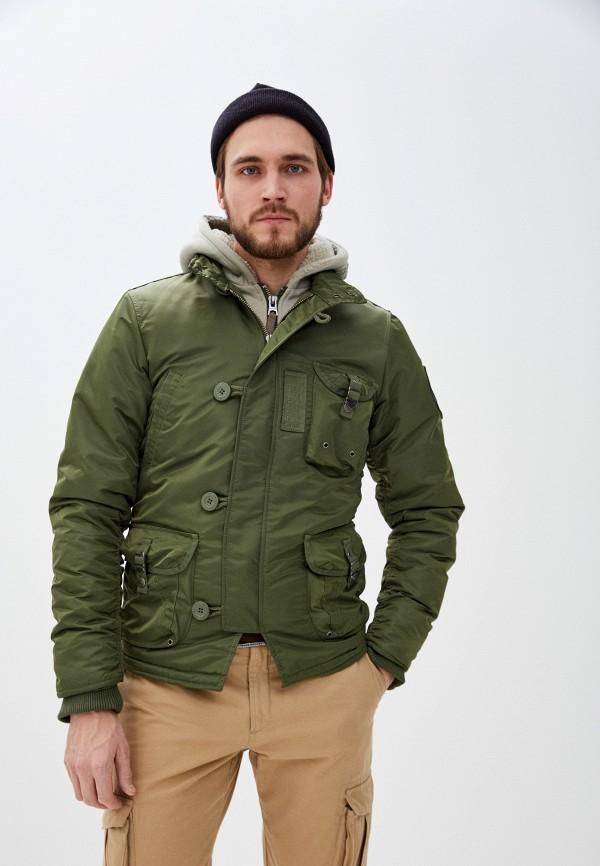 Куртка утепленная Apolloget Apolloget  зеленый фото