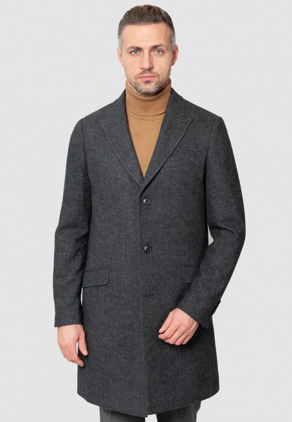 мужское пальто arber, серое