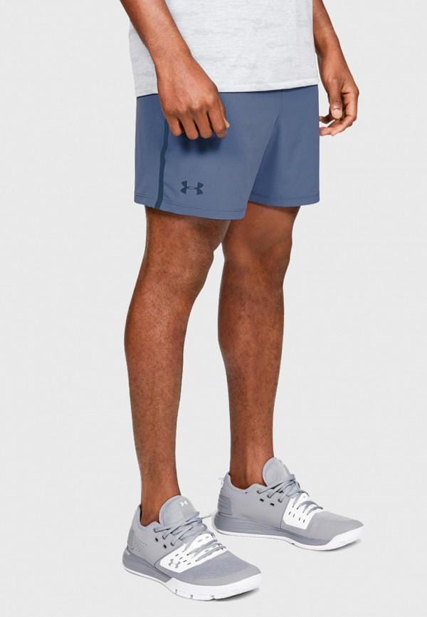 мужские повседневные шорты under armour, синие