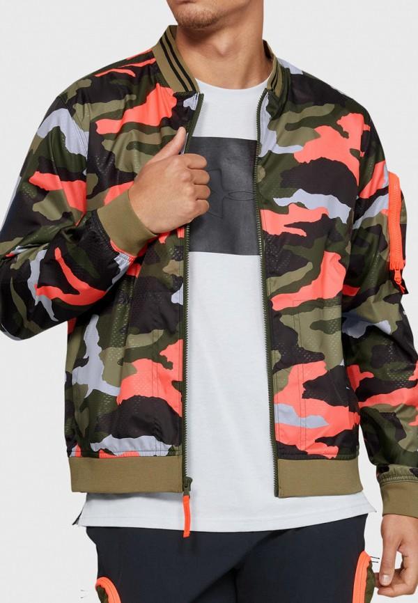 мужская ветровка under armour, разноцветная