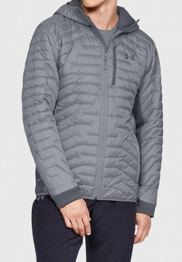 мужская куртка under armour, серая