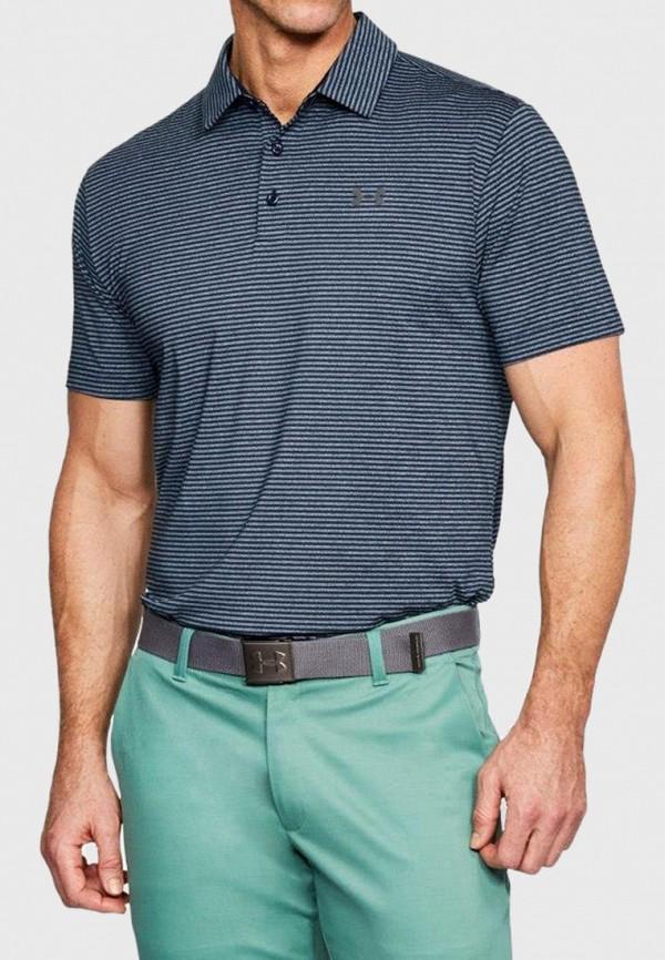 мужское поло under armour, разноцветное