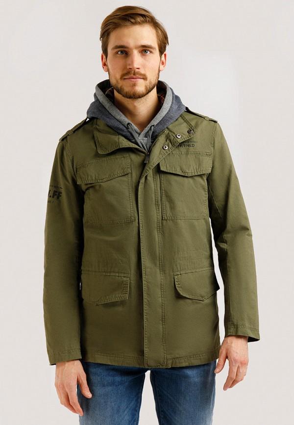 Куртка Finn Flare цвета хаки
