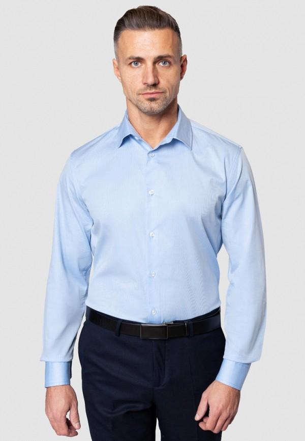 мужская рубашка с длинным рукавом gregory arber, голубая