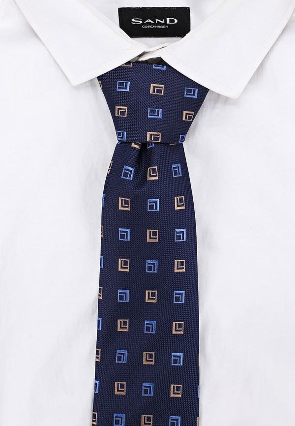Фото 3 - Мужской галстук Ir.Lush синего цвета