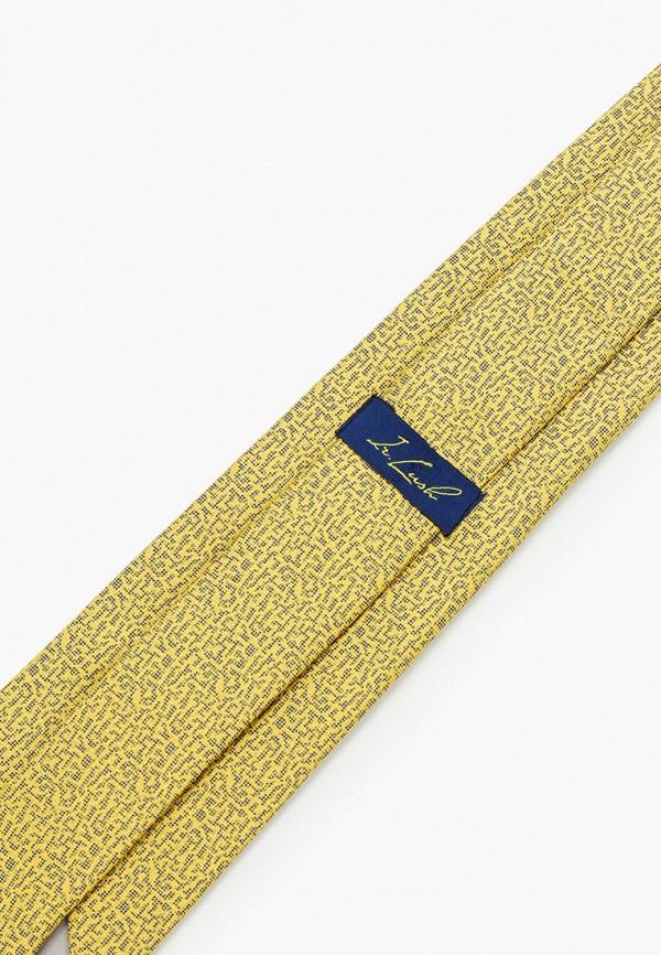 Фото 2 - Мужской галстук Ir.Lush желтого цвета