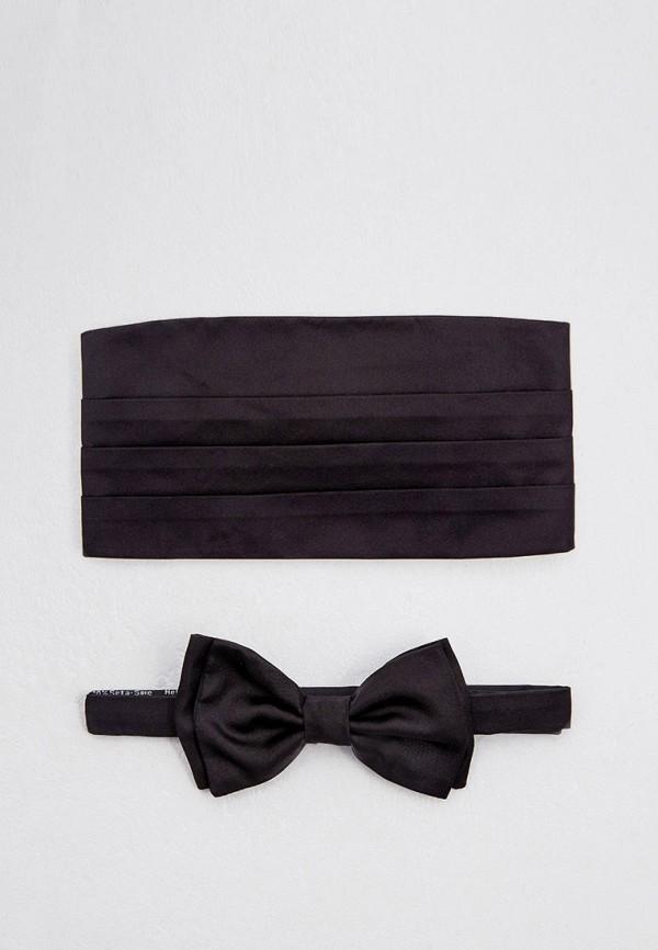 мужские галстуки и бабочки boss, черные
