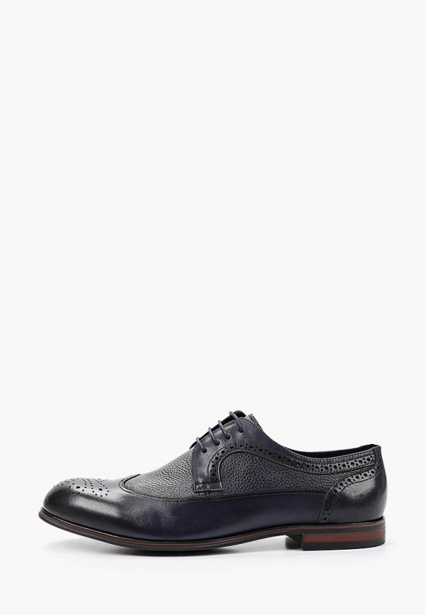 мужские туфли-дерби dino ricci, синие
