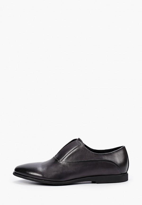 мужские туфли-оксфорды dino ricci, серые