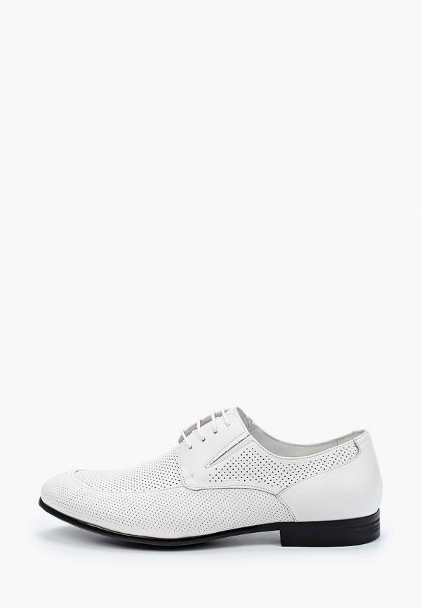 мужские туфли-дерби dino ricci, белые
