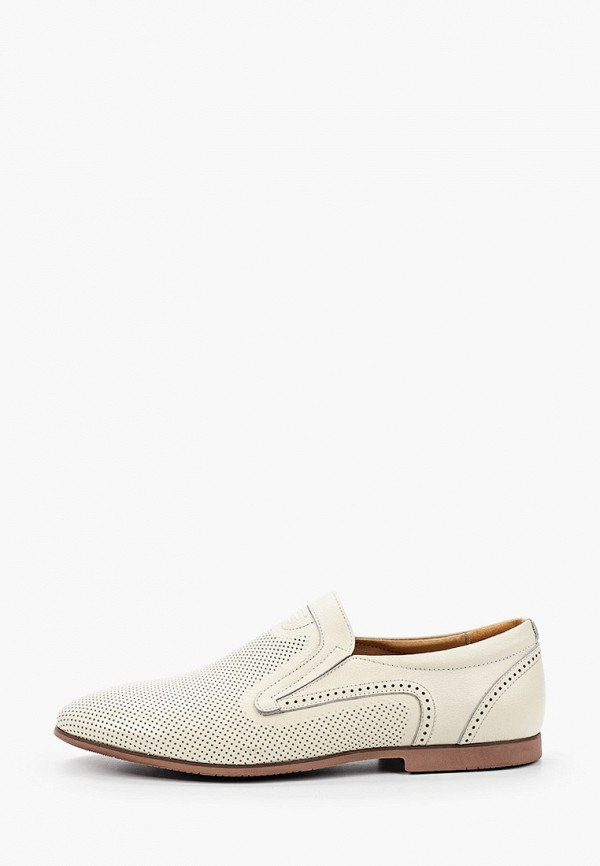 мужские туфли-дерби dino ricci select, белые