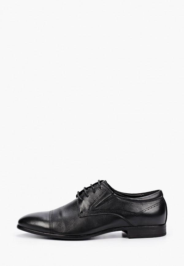 мужские туфли-дерби dino ricci select, черные