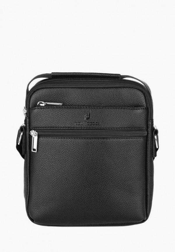 мужская сумка paul jacobs, черная