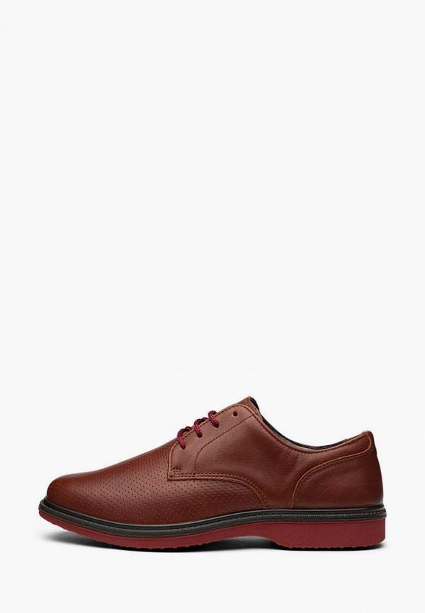 мужские туфли grisport, коричневые