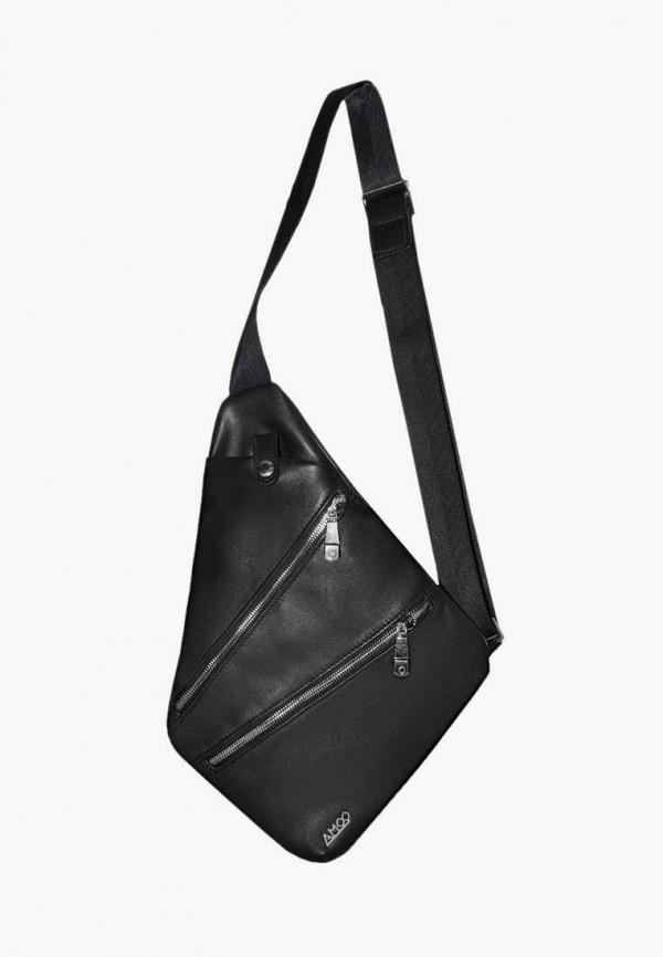 мужская сумка амоо, черная