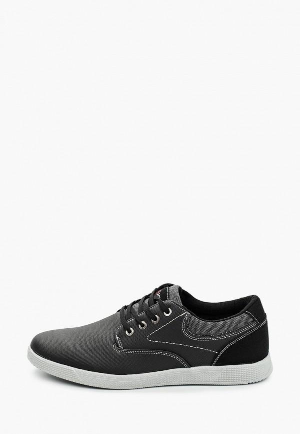 мужские низкие ботинки zenden active, черные