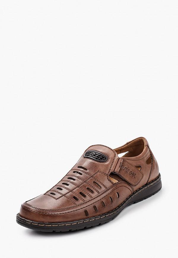 Туфли Instreet цвет коричневый  Фото 2