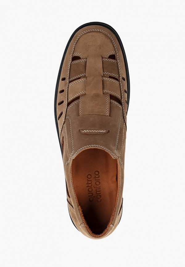 Туфли Quattrocomforto цвет бежевый  Фото 4