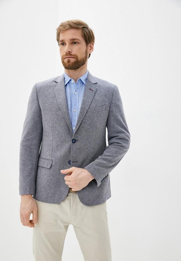 мужской пиджак al franco, серый
