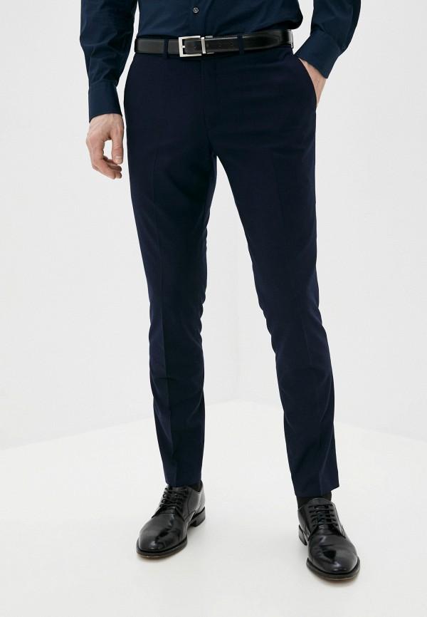 мужские классические брюки al franco, синие