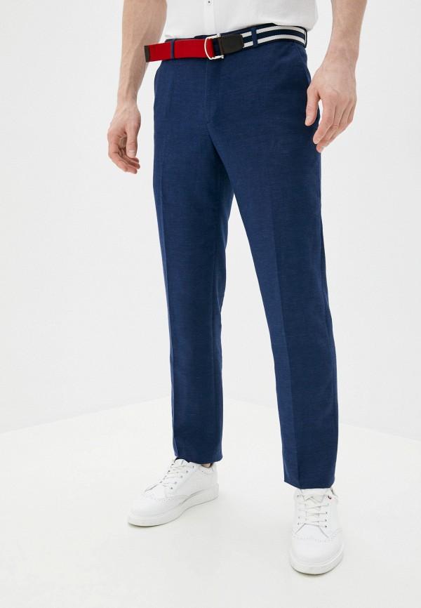 мужские повседневные брюки al franco, синие