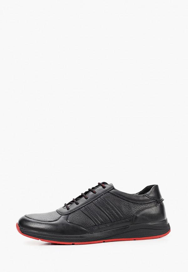 мужские низкие кроссовки zenden active, черные