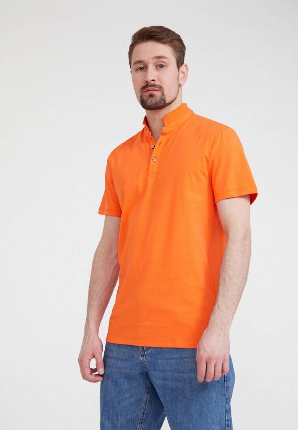 Поло Finn Flare цвет оранжевый  Фото 4