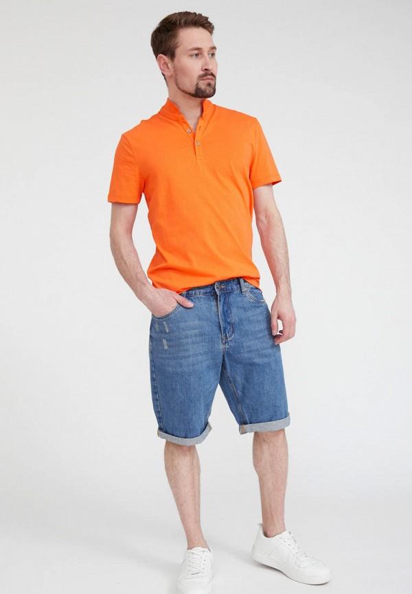 Поло Finn Flare цвет оранжевый  Фото 2