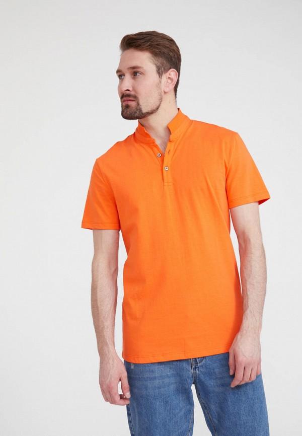 Поло Finn Flare цвет оранжевый