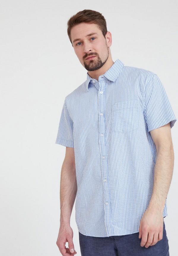Рубашка Finn Flare голубого цвета