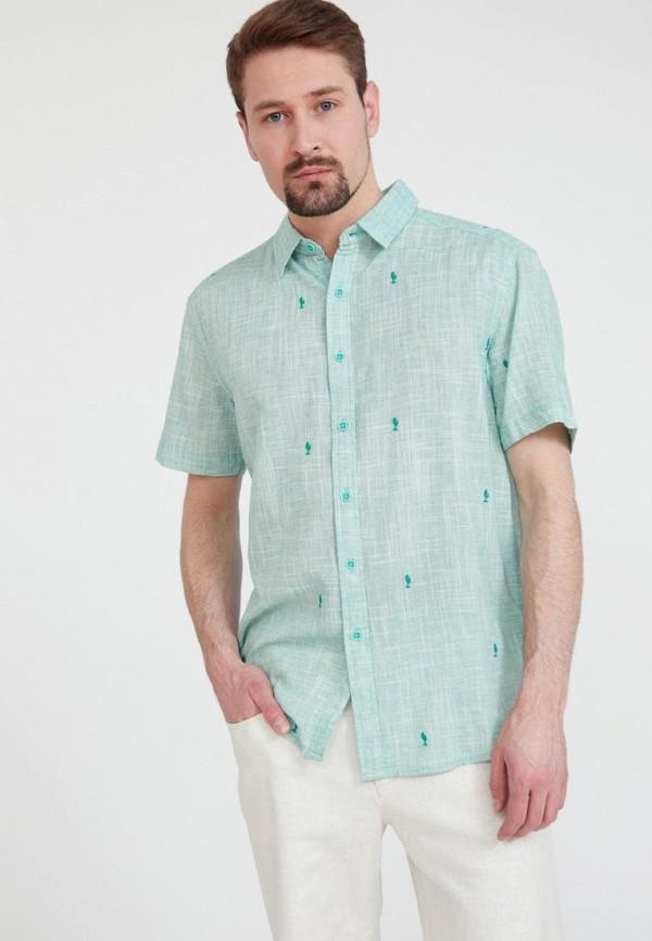 Рубашка Finn Flare зеленого цвета