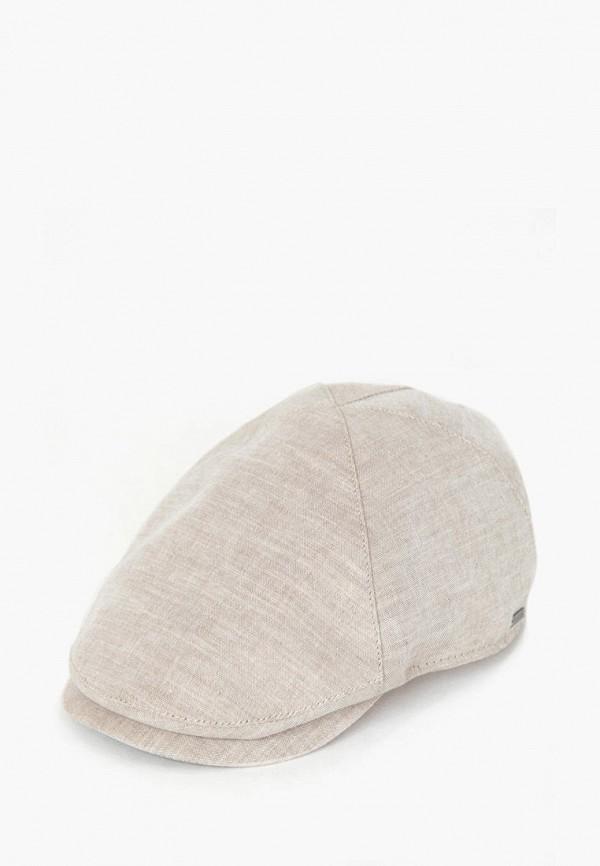 мужская кепка finn flare, бежевая