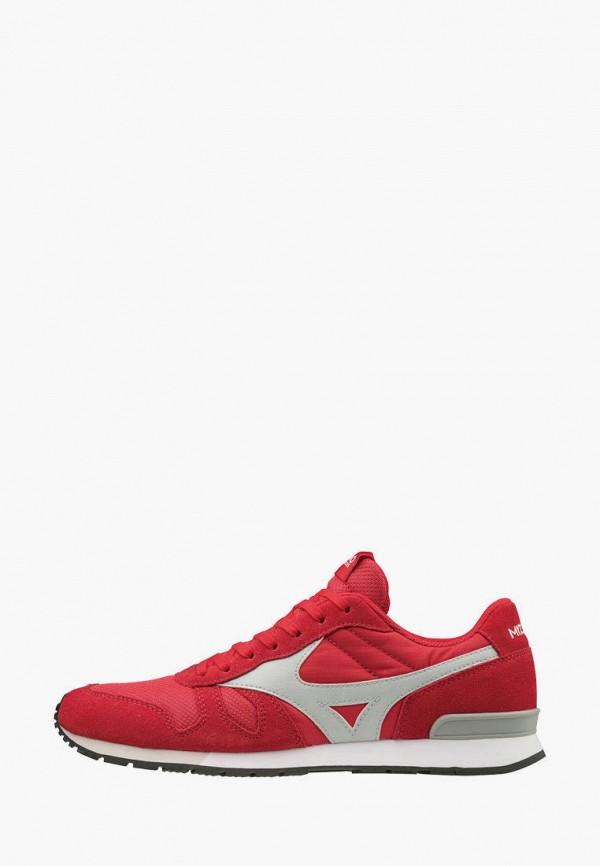 мужские кроссовки mizuno, красные