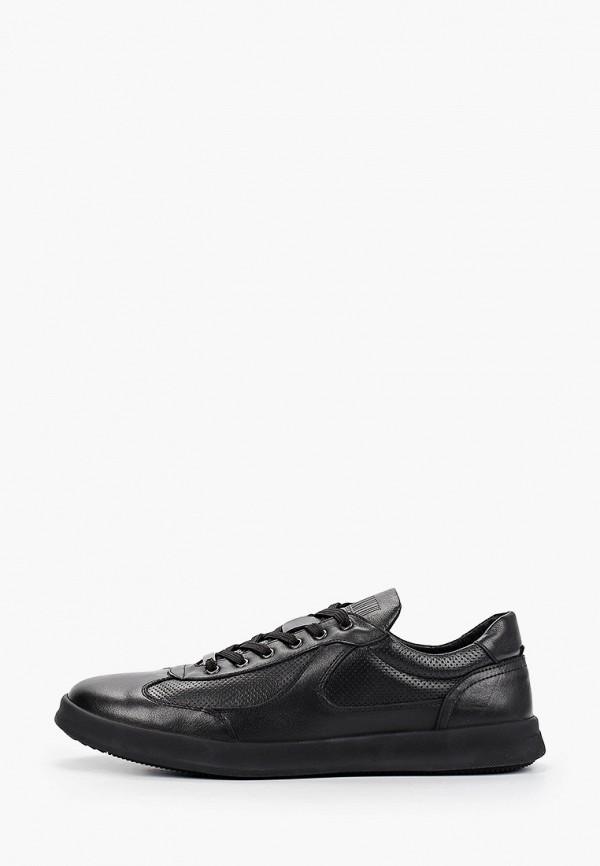 мужские низкие кроссовки dino ricci select, черные
