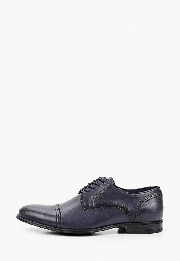 мужские туфли-дерби dino ricci select, синие