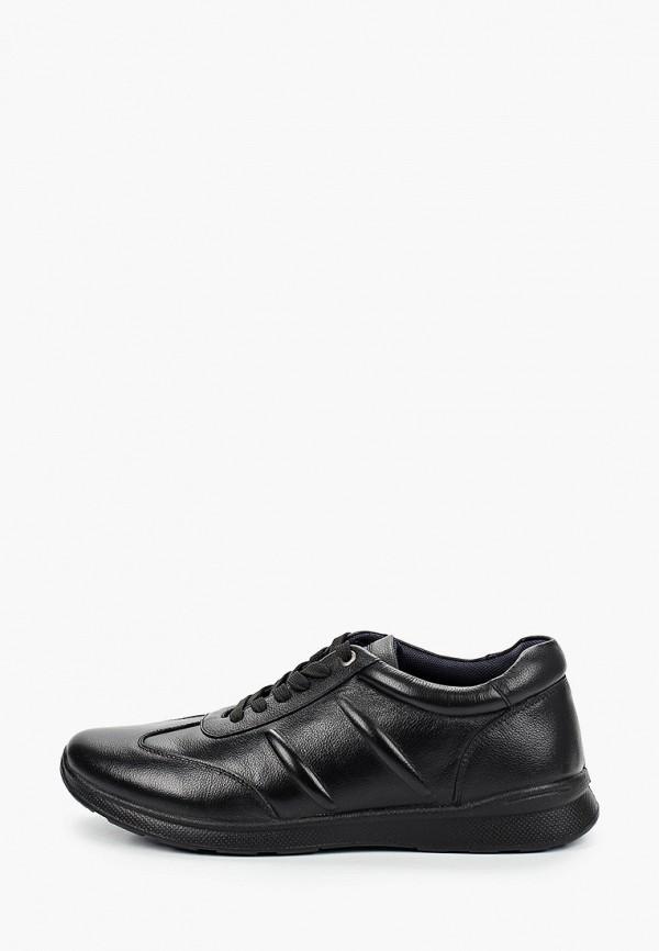 мужские низкие кроссовки quattrocomforto, черные