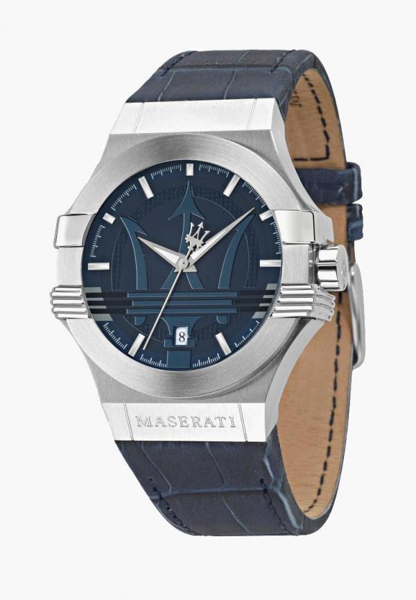 мужские часы maserati, синие