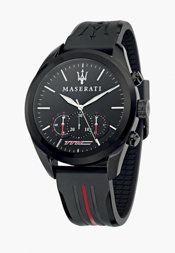 мужские часы maserati, черные