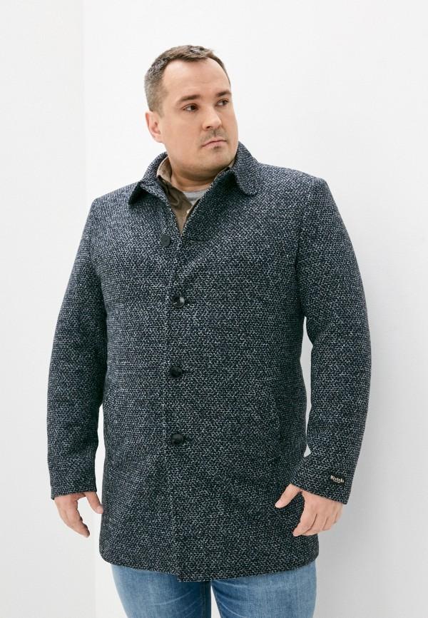 мужское пальто misteks design, синее