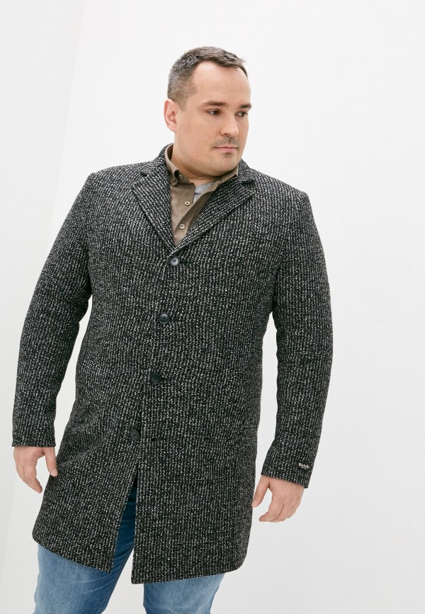 мужское пальто misteks design, черное