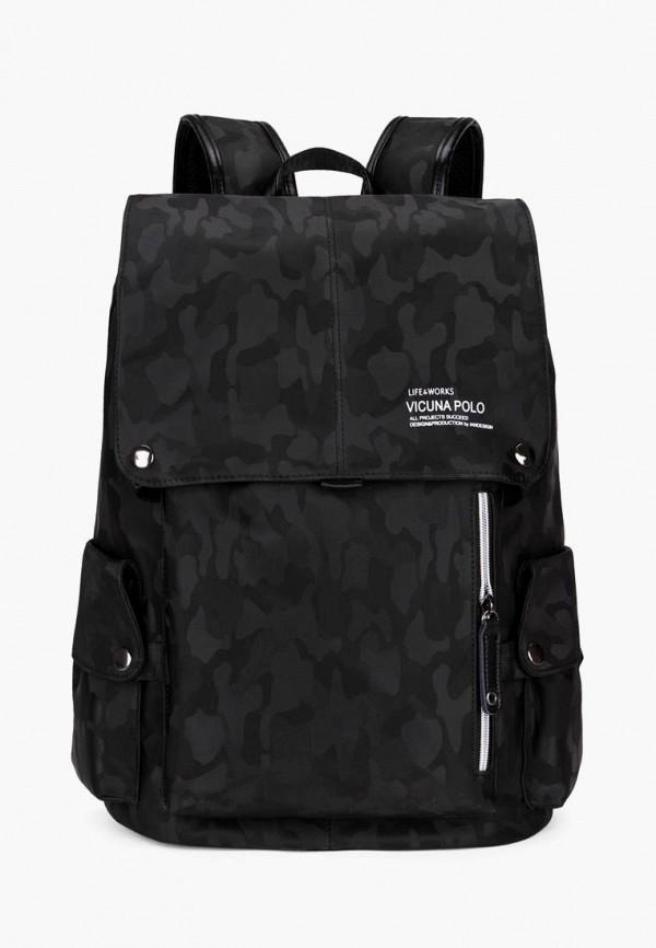 мужской рюкзак vicuna polo, черный