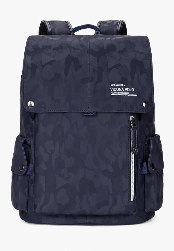 мужской рюкзак vicuna polo, синий