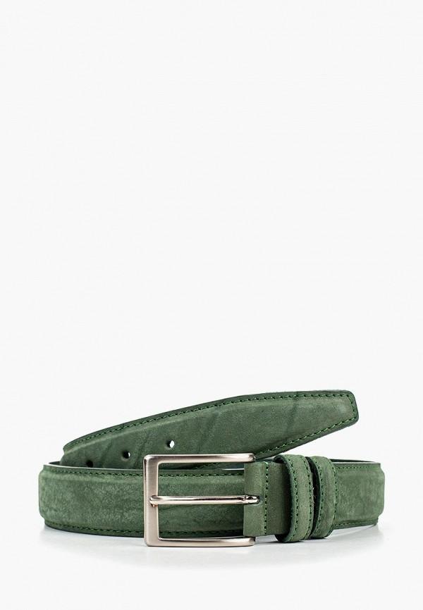 мужской ремень tony perotti, зеленый
