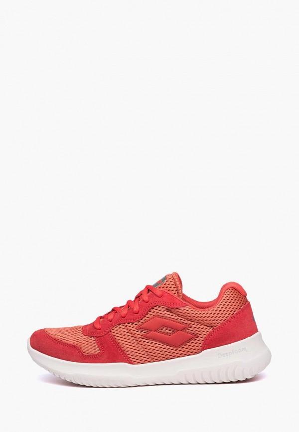 мужские кроссовки lotto, красные