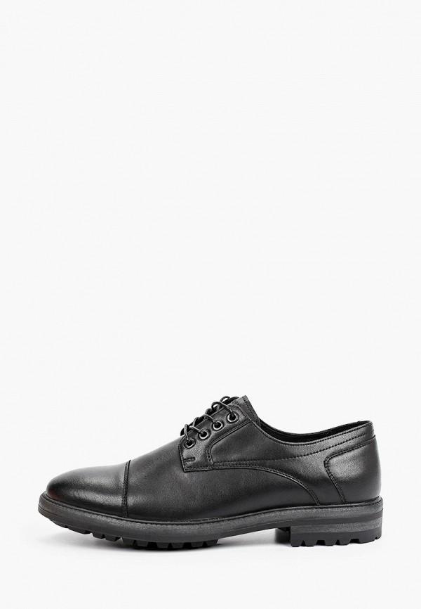 мужские низкие ботинки thomas munz, черные