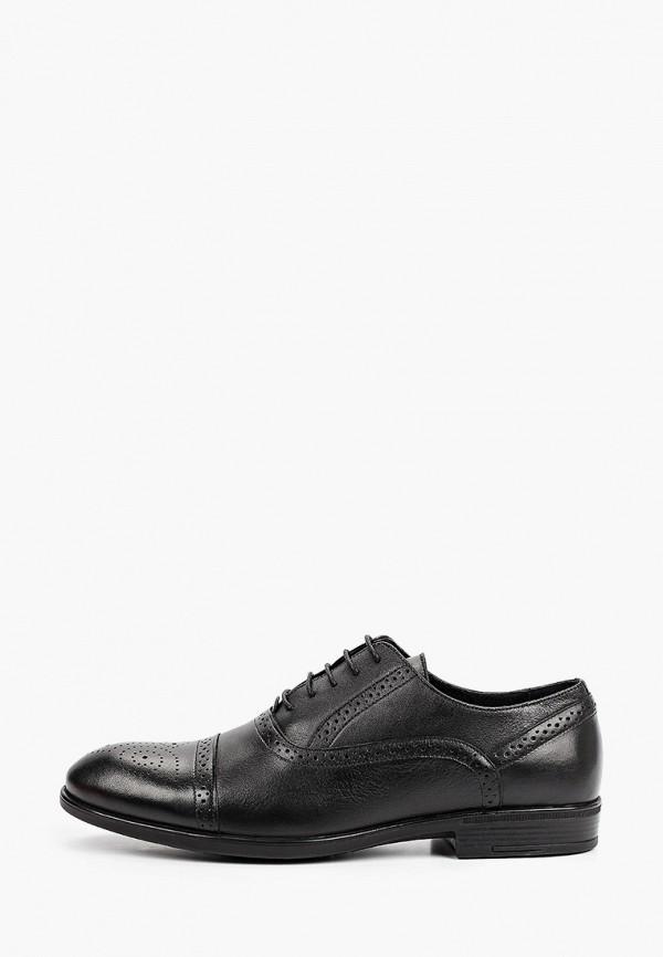 мужские туфли-оксфорды thomas munz, черные