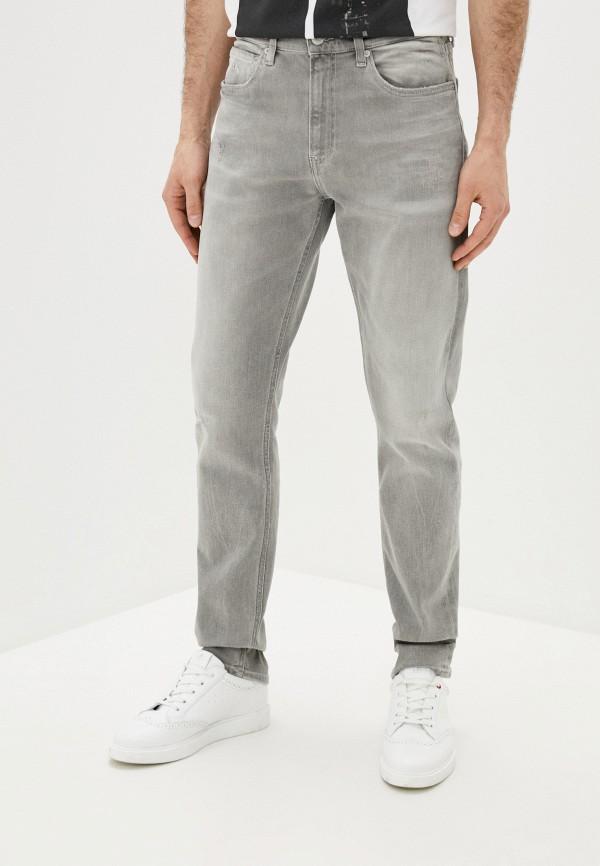 мужские прямые джинсы calvin klein, серые